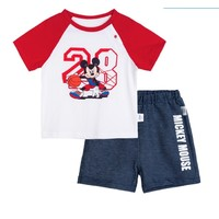 88VIP:Bornbay 贝贝怡 男童短袖套装
