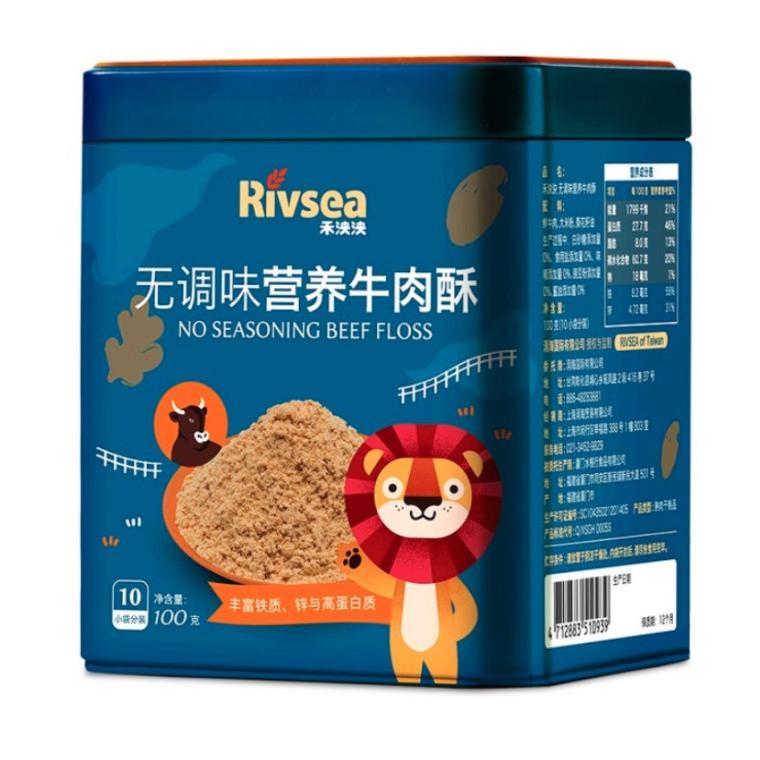 禾泱泱 儿童牛肉酥 100g