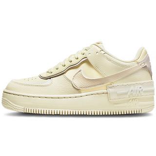 NIKE 耐克 AF1 SHADOW 椰奶色空军一号女子休闲鞋板鞋 CU8591