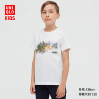 UNIQLO 优衣库 儿童印花T恤