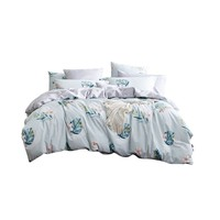 Dohia 多喜爱 家纺ins三/四件套全棉纯棉床品床上北欧双人床单被套花溪