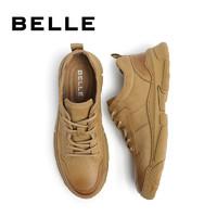 BeLLE 百丽 6YE01CM0 男士工装鞋
