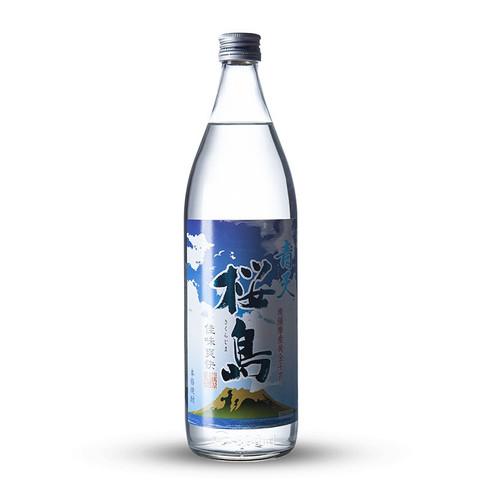 本坊酒造 日本青空樱岛红薯烧酒 日本酒 洋酒 原装进口 900ml 25%vol