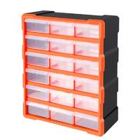 TACTIX 拓为 18格抽屉式零件收纳盒