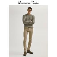 Massimo Dutti 00051151710 男士仿牛仔布灯芯绒修身休闲长裤