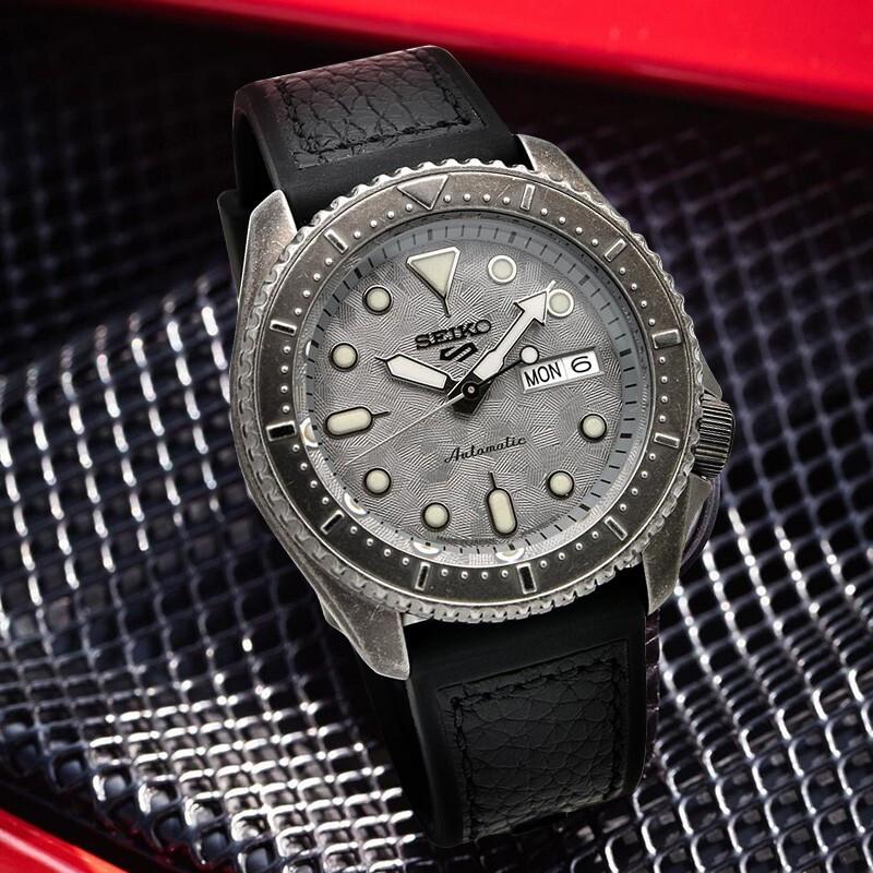 SEIKO 精工 5系列 SRPE79K1 男士机械手表