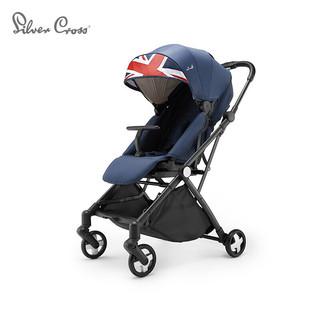 Silver Cross 银十字 婴儿车360度旋转双向高景观婴儿推车Poper英伦之美