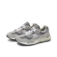 6日10点:new balance 美产992系列 M992GR 中性休闲鞋
