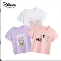 Disney 迪士尼 儿童短袖印花T恤 3件装