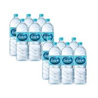 6日0点、88VIP:白山水 天然饮用纯净矿物质水 2L*12瓶