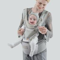 babycare 婴儿背带腰凳多功能四季宝宝前抱式腰凳抱娃神器透气