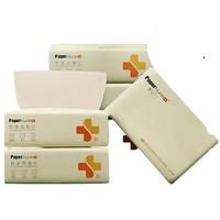 PaperNurse 纸护士 家用实惠装竹浆本色抽纸 3层*240张*6包