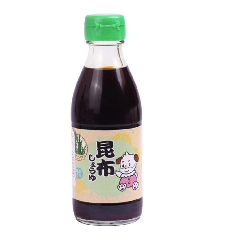 88VIP : 三井宝宝 婴儿减盐昆布酱油 200ml