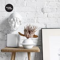 Moreover原创设计ins陶瓷花瓶水培干花花器花瓶装饰品摆件北欧桌