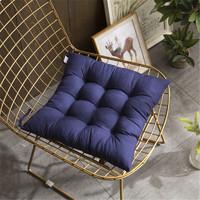 布拉塔 纯色加厚椅子坐垫椅垫