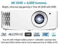 Optoma 奥图码 4K UHD 游戏投影仪