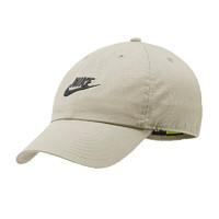 NIKE 耐克 中性 帽子 U NSW H86 FUTURA WASH CAP 运动配饰 913011-072 灰色 MISC码