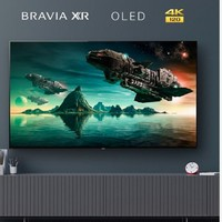 SONY 索尼 XR-77A80J 77英寸家用超薄4K HDR智能液晶平板电视机