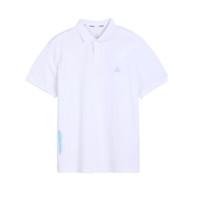PEAK 匹克 男子POLO衫 DF612551 大白 XXXXL