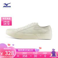 Mizuno 美津浓 男女经典休闲鞋复古时尚休闲帆布板鞋MIZUNO COURT S 02/笋白色 43