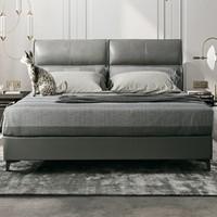 AIRLAND 雅兰 拉斐 意式轻奢真皮软床 1.8m 床垫组合款