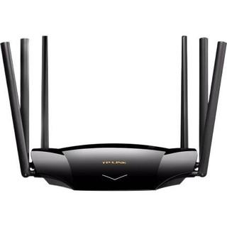 TP-LINK 普联 AX5400 双频5400M 家用千兆Mesh无线路由器 Wi-Fi 6(802.11ax)黑色