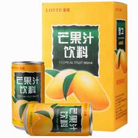 LOTTE 乐天 芒果汁 180ml*4罐