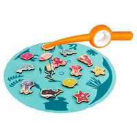 多米巴 益智钓鱼玩具 深海钓鱼 单杆