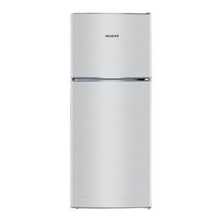 MELING 美菱 BCD-118 直冷双门冰箱 118L 银色