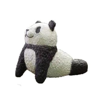 棒潮玩 动物星球x畠山翔平 沙雕系列 瑜伽熊猫