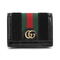 GUCCI 古驰 Ophidia系列卡包
