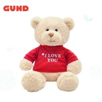 GUND 冈德 经典T恤熊系列 泰迪熊 米色