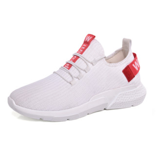 Nan ji ren 南极人 男士低帮休闲鞋 18220NJ718 白色 39