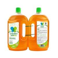 88VIP:Cleafe 净安 季铵盐消毒液 1L*2瓶