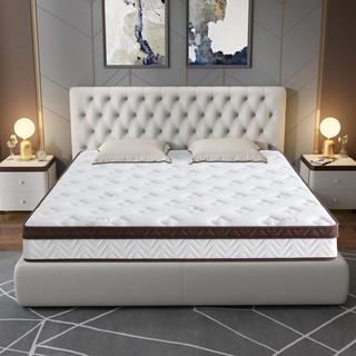 KUKa 顾家家居 乳胶床垫席梦思1.8m床三区独袋静音弹簧床垫DK.M1002