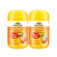 限新用户:Nature's Way 澳萃维 佳思敏 儿童维生素C+锌软糖60粒 2件装