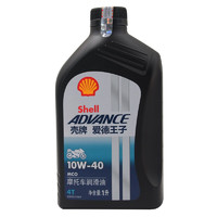PLUS会员:爱德王子 4T 摩托车机油 10W-40 SG级 1L