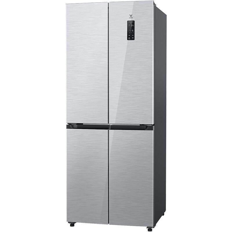 VIOMI 云米 BCD-410WMSAZ02A 风冷十字对开门冰箱 410L 星密银