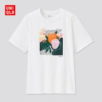 UNIQLO 优衣库 UT 女士印花圆领T恤 437914