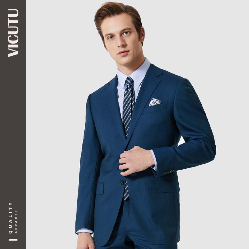 VICUTU 威可多 VBS99112359 男士西服套装