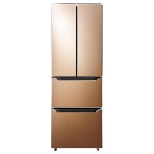 KONKA 康佳 BCD-300EGX4SU 法式多门嵌入式金色电脑温控家用节能电冰箱
