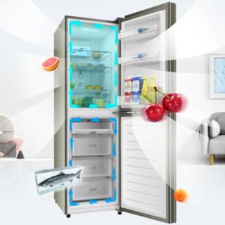 SHARP 夏普 BCD-246WTGE-N 风冷双门冰箱 246L 米罗金