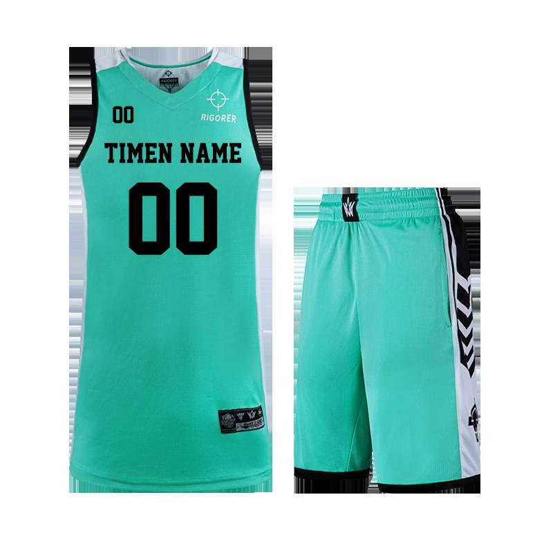 RIGORER 准者 Z17210107 中性款篮球服套装