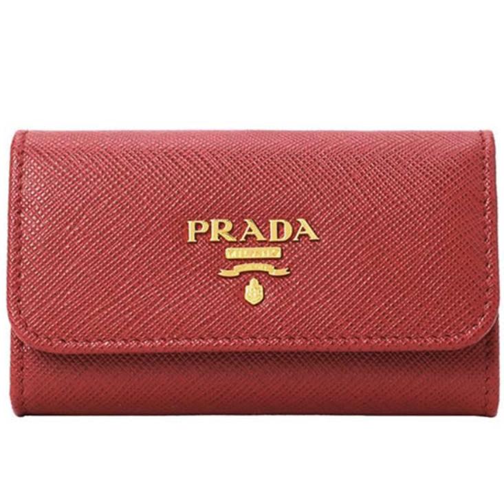 PRADA 普拉达 女士牛皮钥匙包 1PG222-QWA
