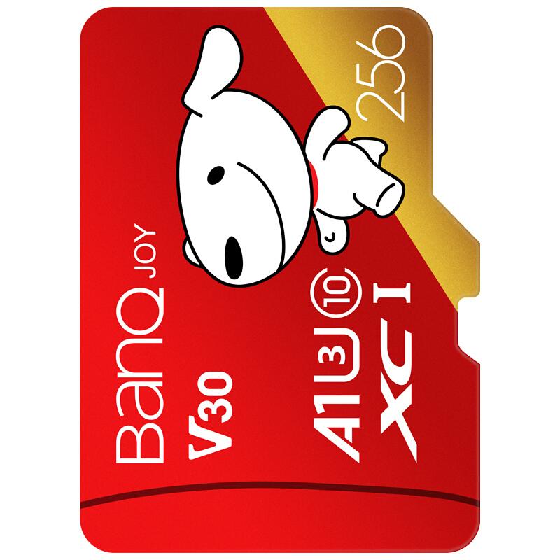 BanQ U1 C10 A1 256G TF储存卡