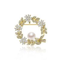gN pearl 京润珍珠 3438201022108 时尚珍珠胸针