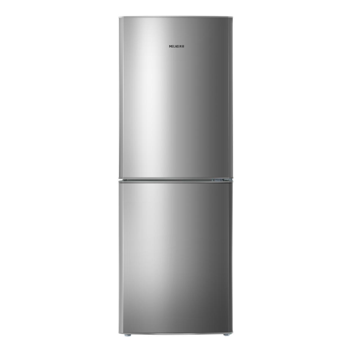 MELING 美菱 BCD-170LCX 直冷双门冰箱 170L 银色