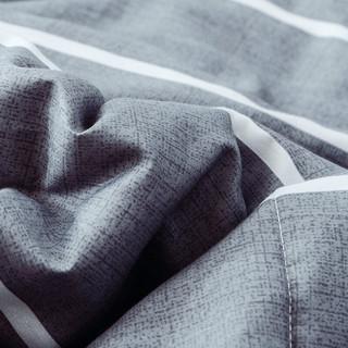 Nan ji ren 南极人 被芯家纺 全棉水洗棉夏凉被子 夏被空调被 可水洗机洗双人薄被子 条纹200*230cm