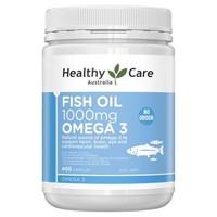 Healthy Care 澳洲深海鱼油胶囊 400粒