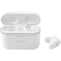 RAPOO 雷柏 TI100 入耳式真无线主动降噪蓝牙耳机 白色